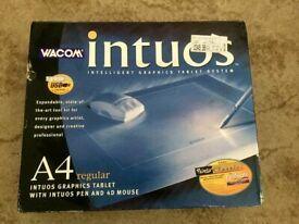 Wacom Intuos A4 Graphics Tablet