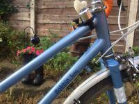 BOBBIN LUNA 16 speed Road bike,44cm celeste blue frame,Claris gears/shifters,700c wheel