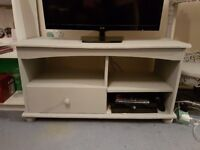 Paris grey, two shelved cabinet/TV stand/shelving unit