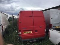 2009 FORD TRANSIT LWBASE IN VGCONDITION ENGINE PROBLEM , BUT IN LOVELY. CONDITION