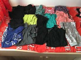 Ladies size 12 tops