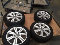"Audi Alloy Wheels 17"" Perfect Condition X4"