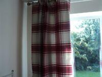 curtains & rug