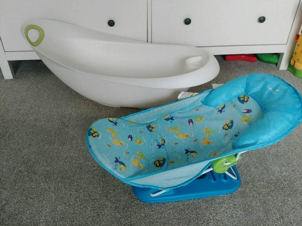 Baby Bath And Bath Seat | in Torquay, Devon | Gumtree