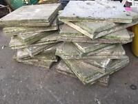 Used paving slabs 440mm x 440 mm