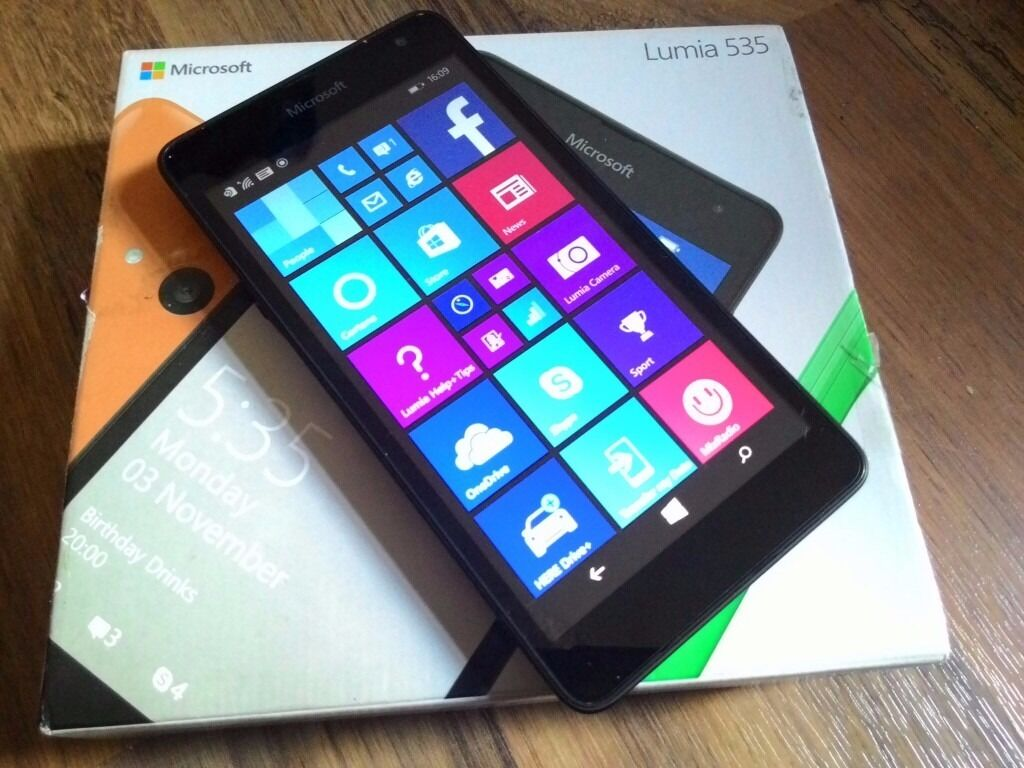 Microsoft Lumia 535, unlockedin Leytonstone, LondonGumtree - Microsoft Lumia 535 Good condition Unlocked, works on any network With box and charger 5 inch screen 5MP camera 1GB RAM All items I sell do come with receipt so you have peace of mind. Im located on Leytonstone High Road in walking distance to the...