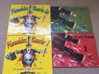 Recorder music books