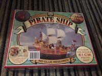 Colour & Build Pirate Ship (New)