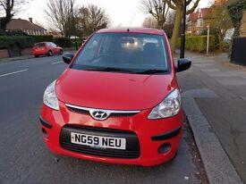 Hyundai I10 2010 64000 mileage
