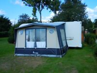 Isabella Magnum Moonlight Porch Awning with Carbon Fibre Poles - Lightweight