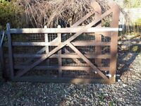Wooden Farmhouse Style Gates