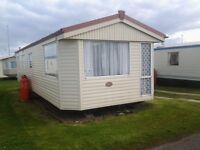 3 bedroom Static Caravan for hire. Red Lion Caravan Park Arbroath