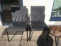 Pair of Ikea garden chairs