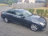 Mercedes E220 cdi in great condition and low mileage for age