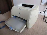 HP LaserJet 1200 laser printer black & white