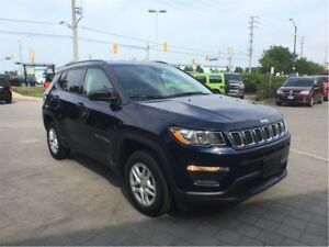 2018 Jeep Compass Sport*4X4*COLD WEATHER GRP*SPT APPEARANCE GRP*