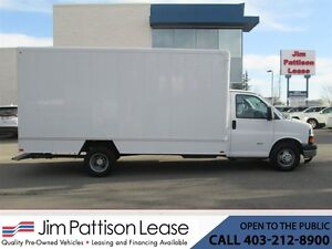 2014 Chevrolet Express 3500 6.6L Turbo Diesel 16 Ft. Cube Van w/