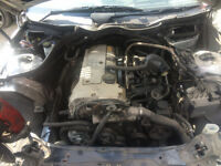mercedes c class w203 2002 engine for sale open today call for any parts