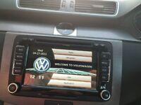 SAT NAV navigation dvd player usb bluetooth MP3 for volkswagen passat golf polo caddy RNS510 style