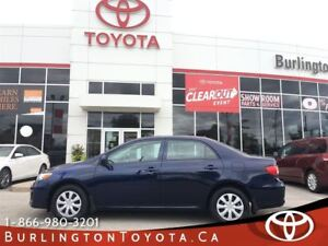 2013 Toyota Corolla CE SUNROOF, LOW KM'S