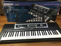 Yamaha YPT210 keyboard in brand new condition ( only used a few times )