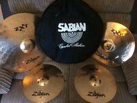 Zildjian ZXT Rock 4 set cymbals for drum kit. Will accept reasonable offers