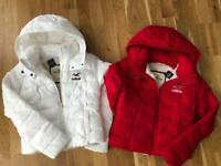 Brand NEW Hollister & Co. Down Coats XS
