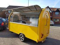 Catering Trailer Food Cart Burger Van Pizza Trailer