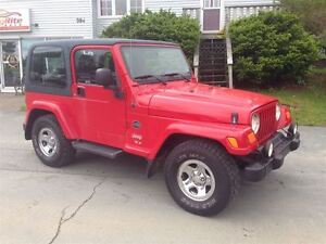 2003 Jeep TJ Sport 6 CLY. 4X4