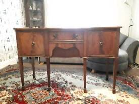 Vintage Serpentine (Bow Front) Sideboard