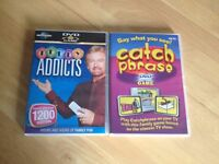 2 DVD Games - Telly Addicts & Catchphrase