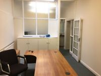 4 x Office desks/5 x filling cabinets - good condition
