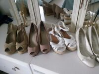 Shoes size 3 , 4 pairs