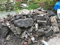 Reclaimed Walling/Edging/Rockery Stone