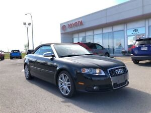 2007 Audi S4 2DR Cabriolet AT