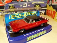 Brand New in Box. Scalextric C3652 - Dodge Charger R/T 'Candy Apple Red'.