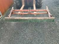 Tractor three point linkage 5ft drag brush