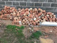 Reclaimed bricks and breeze blocks Carlton