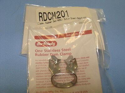 Dental Rubber Dam Clamp No 201 Rdcm201 Hu Friedy Original Special Price