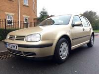Automatic Volkswagen Golf Auto 1.6 5 Door. Low Miles. Drives Superb.