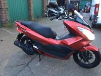 Honda PCX 125 2014 new Shape Fully serviced 1 year MOT,£1760- Vespa LX 50 2009 £780