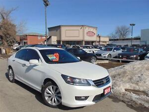 2015 Honda Accord EX-L-LEATHER-SUNROOF-ALLOYS-ONE OWNER