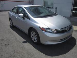 2012 Honda Civic Berline LX Auto, Air, Gr. élect