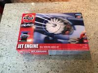 Jet Engine Airfix model