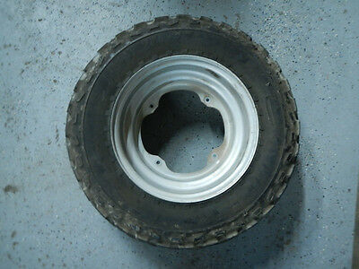 FRONT RIM WHEEL TIRE HUB 1988 YAMAHA BW200 BIG WHEEL ELECTRIC START 88