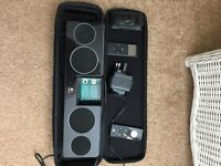 iPod 8gb and portable speaker/charger
