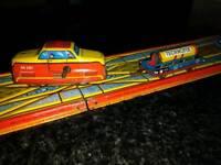 Technoflex antique train set (1950's)