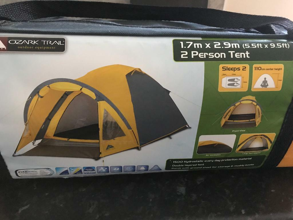 Two man ozark trail tent - never used | in Stirchley, Shropshire | Gumtree