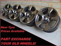 "1658 Genuine 17"" BMW 157 3 Series F30 E90, 1 Series F20, 2 4 Series Alloy Wheels"