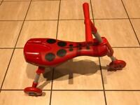 Red Scuttle Bug Ride On - 18 months +
